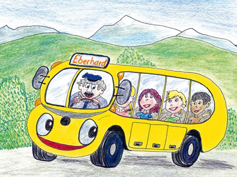 Der zitronengelbe Omnibus