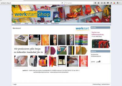 werkstart shop